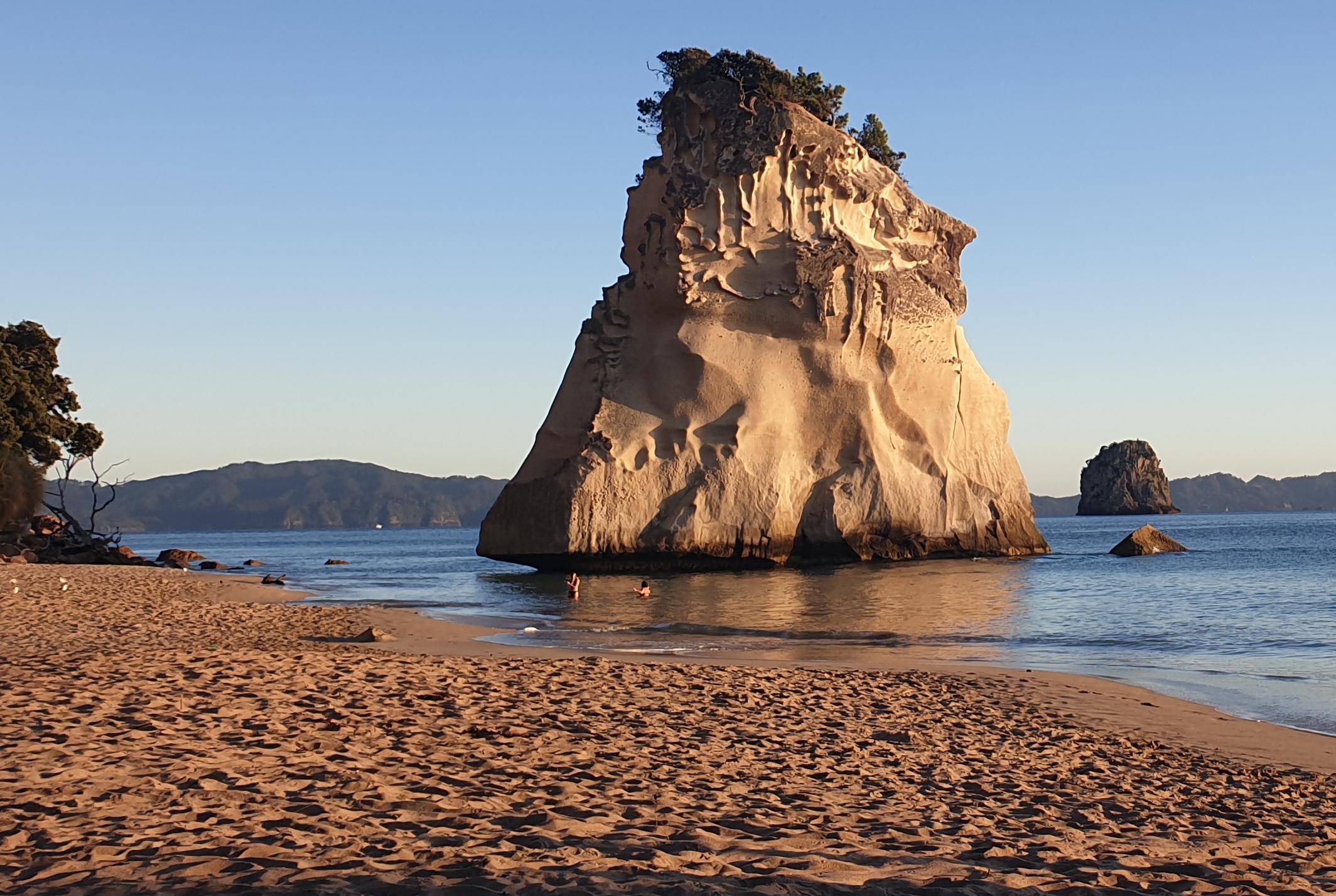 Cathedral Cove Neuseeland - Jahresrückblick aufgeblaettert